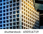 modern office building detail... | Shutterstock . vector #650516719