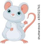 illustration of cute mice | Shutterstock .eps vector #650522761
