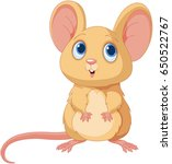 illustration of adorable mice | Shutterstock .eps vector #650522767