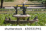 statues in a fountain  | Shutterstock . vector #650531941