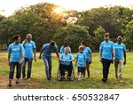 group of diversity people...   Shutterstock . vector #650532847