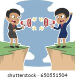 two african businesswoman...   Shutterstock . vector #650551504