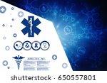 2d illustration medicine... | Shutterstock . vector #650557801