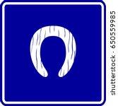 wooden toilet seat sign | Shutterstock .eps vector #650559985