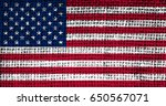 united states of america flag... | Shutterstock . vector #650567071