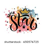 vector illustration of super... | Shutterstock .eps vector #650576725