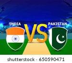 banner or poster for cricket... | Shutterstock .eps vector #650590471