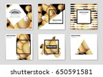 abstract vector layout...   Shutterstock .eps vector #650591581