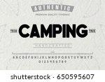font.alphabet.script.typeface... | Shutterstock .eps vector #650595607