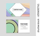 abstract vector layout... | Shutterstock .eps vector #650600761