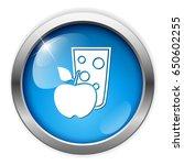 apple juice glass icon   Shutterstock .eps vector #650602255