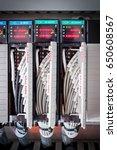 plc control net terminal...   Shutterstock . vector #650608567