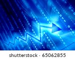 blue data space | Shutterstock . vector #65062855