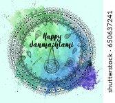 mandala pattern background....   Shutterstock .eps vector #650637241