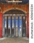Rustic Wooden Folding Doors In...