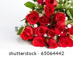Stock photo red roses 65064442