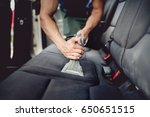 close up details of car... | Shutterstock . vector #650651515