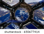 Earth And Spacecraft. Elements...