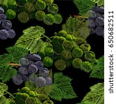 vector illustration of seamless ... | Shutterstock .eps vector #650682511