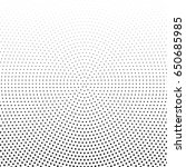 abstract halftone dotted... | Shutterstock .eps vector #650685985