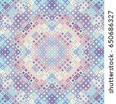 seamless background. geometric... | Shutterstock .eps vector #650686327