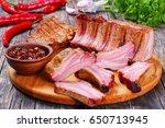 Delicious Smoked Pork Ribs...