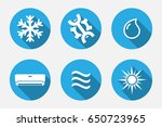 vector application heating and... | Shutterstock .eps vector #650723965
