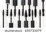 row of different mascara...   Shutterstock . vector #650733379