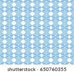 seamless abstract hand drawn... | Shutterstock .eps vector #650760355