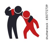person helping someone | Shutterstock .eps vector #650772739