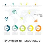 infographic design template can ... | Shutterstock .eps vector #650790679