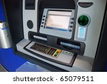 atm  automatic teller machine   ... | Shutterstock . vector #65079511