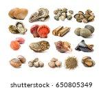 Assortment Of Fresh Shellfish...