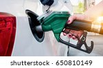 car refueling on gas station.... | Shutterstock . vector #650810149