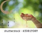 ramadan kareem background... | Shutterstock . vector #650819389