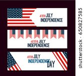 happy independence day flag of... | Shutterstock .eps vector #650827585