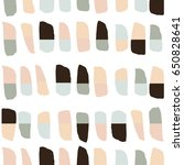 seamless pattern with hand...   Shutterstock .eps vector #650828641