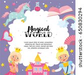"""""""magical world"""" greeting card... 