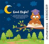 """good night"" card template.... 