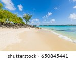 la cuvette tropical paradise... | Shutterstock . vector #650845441