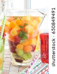 Homemade Fruit Punch With...