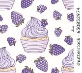 hand drawn seamless pattern... | Shutterstock .eps vector #650852974