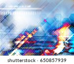 blue abstract background... | Shutterstock . vector #650857939