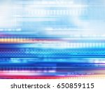 blue abstract background... | Shutterstock . vector #650859115