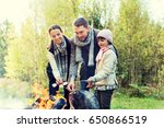 camping  travel  tourism  hike... | Shutterstock . vector #650866519