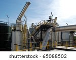 paper and pulp mill   in this... | Shutterstock . vector #65088502