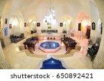 traditional hammam interior in... | Shutterstock . vector #650892421