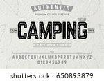 font.alphabet.script.typeface... | Shutterstock .eps vector #650893879