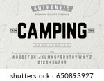 font.alphabet.script.typeface... | Shutterstock .eps vector #650893927