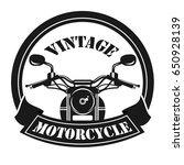 motorcycle logo template | Shutterstock .eps vector #650928139